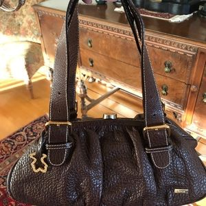 Authentic TOUS Leather Handbag Made in Spain